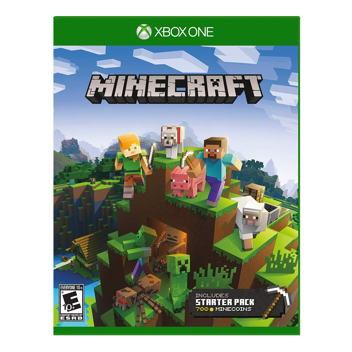 Amazon com: Minecraft Starter Collection - Xbox One