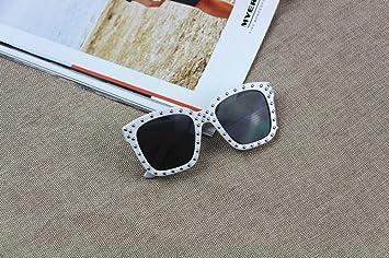 LMB Modische Box Kinder Sonnenbrille Sonnenbrille Wild Nieten Baby Brille,EIN,Der gesamte Code