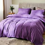 """SONORO KATE Bed Sheet Set Bamboo Sheets Deep Pockets 16"""" Eco Friendly Wrinkle Free Sheets Hypoallergenic Machine Washable Hot"""