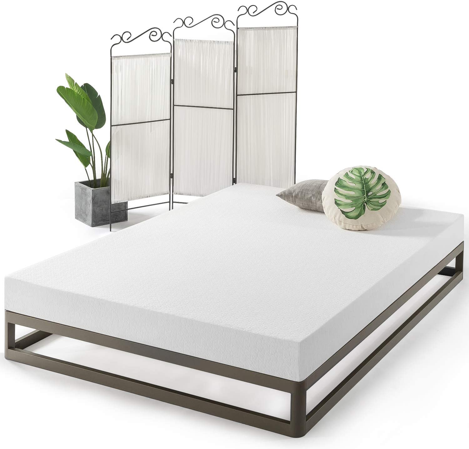 Best Price Mattress Twin Mattress – 6 Inch Air Flow Memory Foam Bed Mattresses Infused with Green Tea, Twin Size