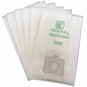 CF Clean Fairy Replacement Micro Filtration Vacuum Bags to fit Kenmore Canister Type C/Q, 5055, 50557, 50558, 53292 Panasonic Type C-5 Models -20 Bags