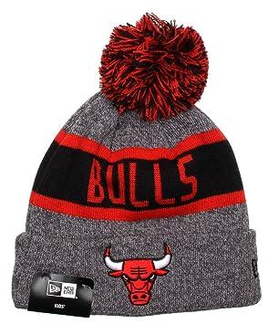 e4c6b63b9d6103 New Era Kids NBA Marl Knit Beanie (Chicago Bulls): Amazon.co.uk ...