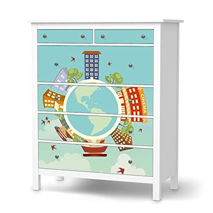 Your Design para cómoda de Ikea hemnes 6 cajones, pegatina ...