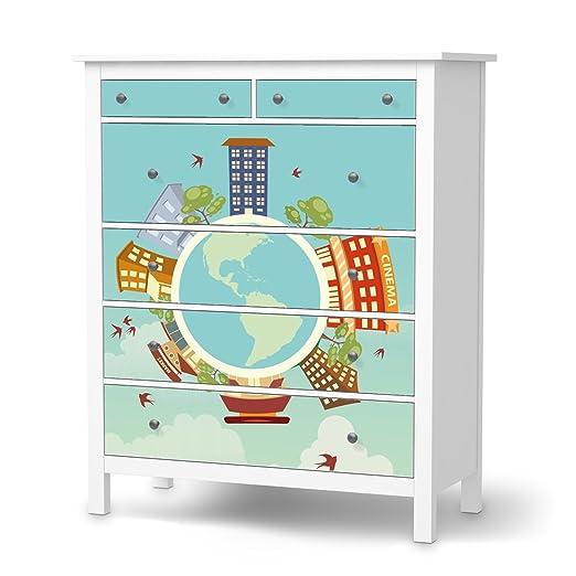Your Design para cómoda de Ikea hemnes 6 cajones, pegatina Papel ...
