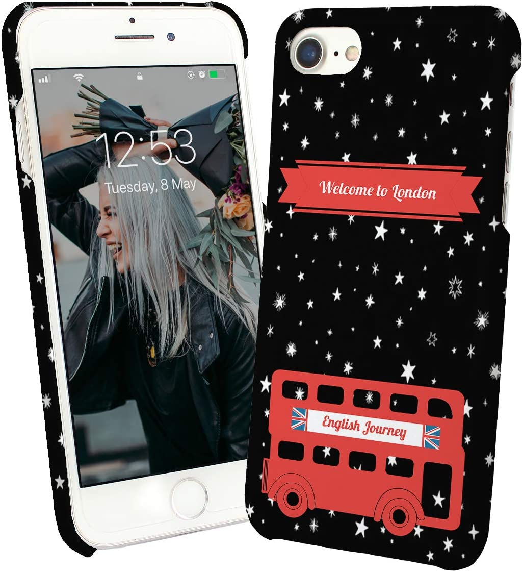 Welcome To London Red Bus English Journey_002381 Phone Case Cover Carcasa De Telefono Estuche Protector For iPhone 6 Plus iPhone 6s Plus Funny Christmas: Amazon.es: Electrónica
