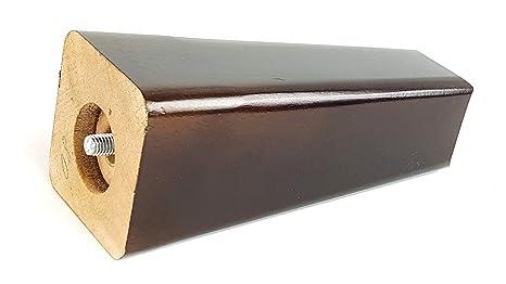 Knightsbrandnu2u Patas de Madera para Muebles, 160 mm de ...