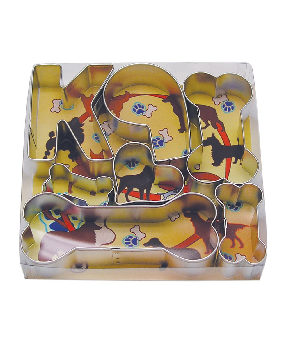 R& M International 1823 Bow Wow Dog Cookie Cutters, Assorted, 13-Piece Set R & M Industries