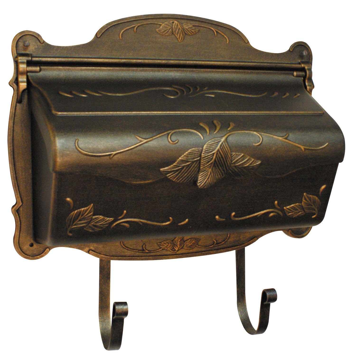 Special Lite Products SHF-1001-BR Floral Horizontal Mailbox, Bronze by Special Lite Products Company, Inc.