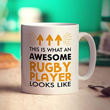 Is This co Awesome Rugby Player Looks What An Like MugAmazon uk zMSUVpLqG
