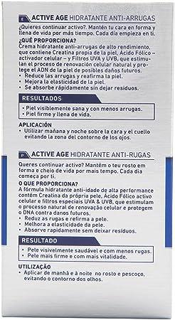 NIVEA Men crema hidratante antiarrugas active age dosificador 50 ml