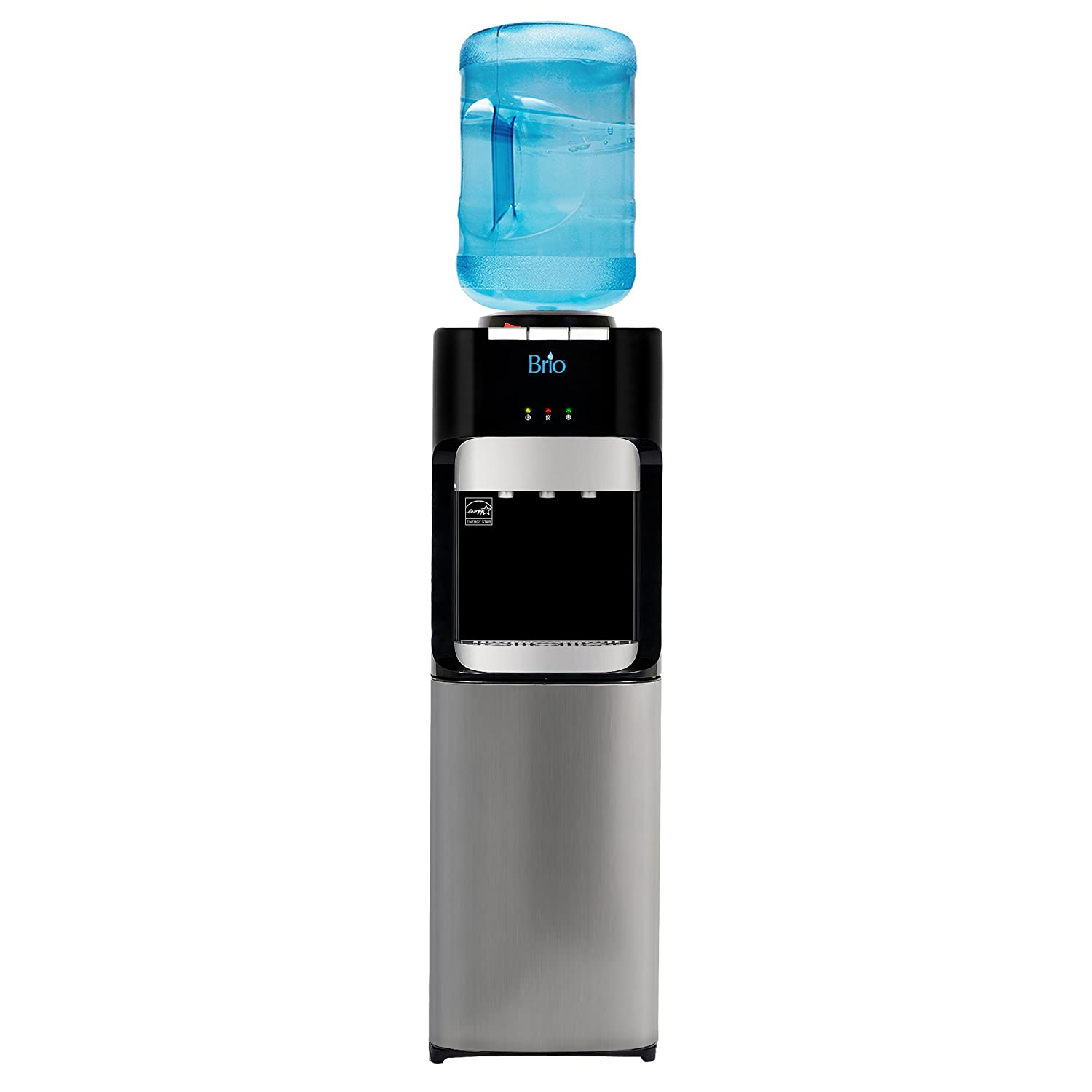 Brio Essential Series Top Load Hot, Cold & Room Water Cooler Dispenser Downtown Wholesalers Inc. cltl420
