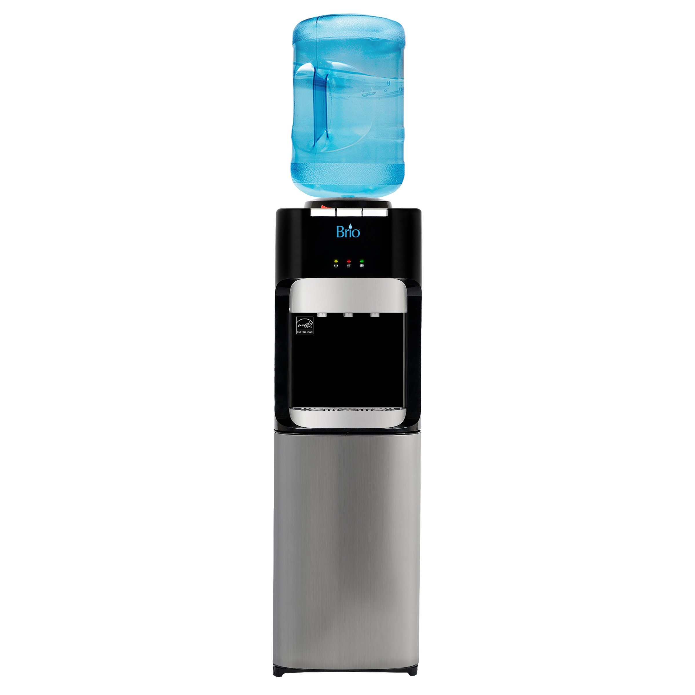 Brio Essential Series Top Load Hot, Cold & Room Water Cooler Dispenser