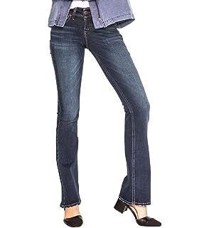 4ea41501789 Amazon.com  Silver Jeans Co. Silver Women s Suki Bootcut Jean  Clothing
