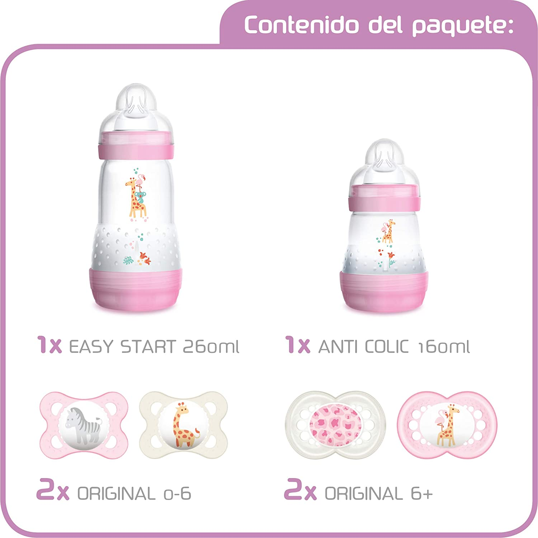 MAM First Steps Set, regalos para bebé (+0), canastilla con ...