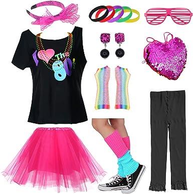 Firmar Viaje malicioso  Amazon.com: Falda de tutú vintage de los años 80 con lunares para niñas:  Clothing