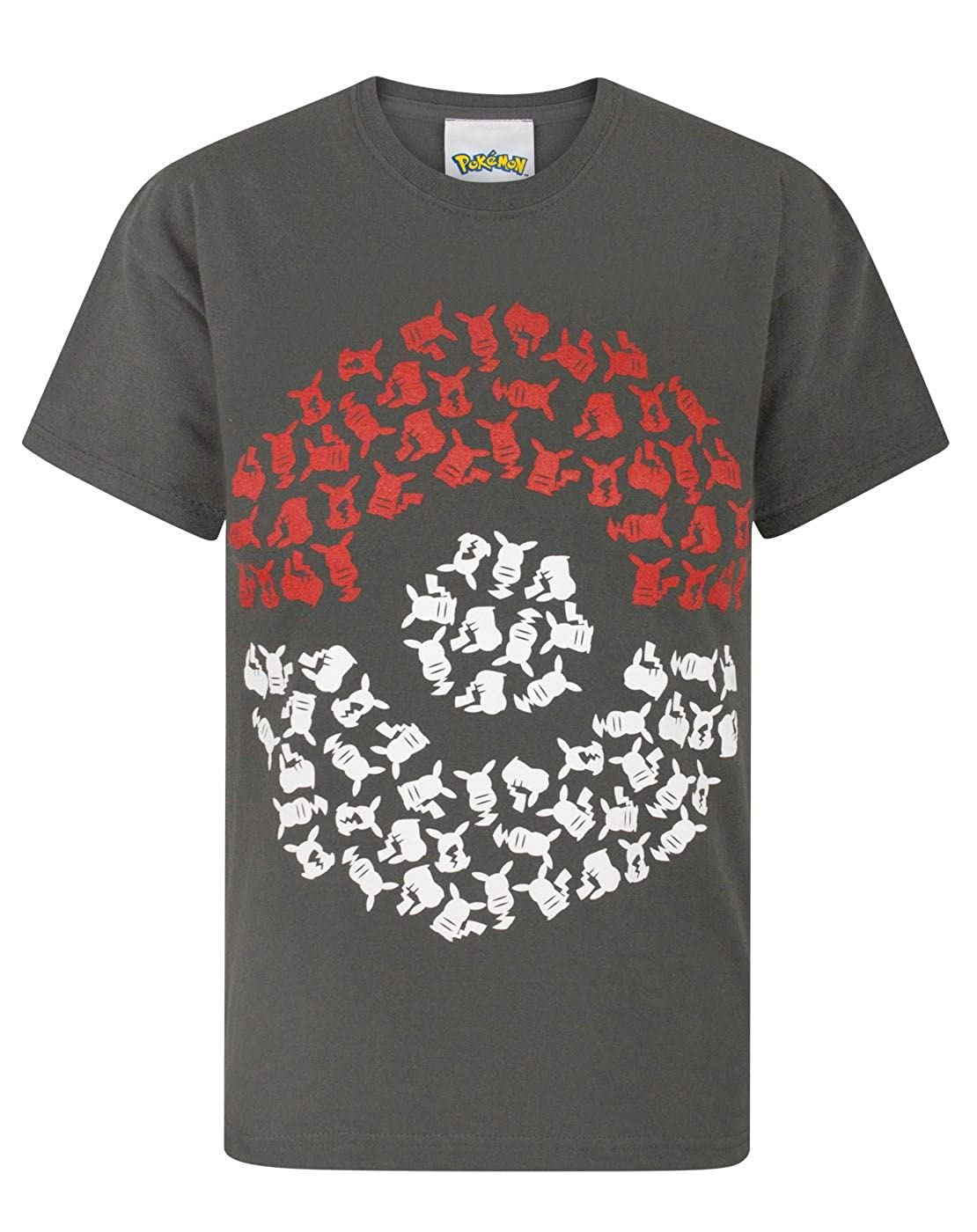 Pokèmon Pika Pokeball Boy's T-Shirt Fashion UK