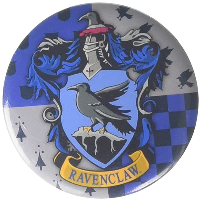 Amazon.com: Harry Potter Ravenclaw botón Pin novedad ...