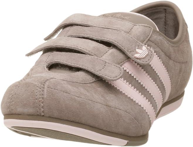 Muelle del puente título impuesto  adidas Women's Okapi 2 Velcro Leather Running Shoe, Tit Grey/Frost Pink,  9.5 M: Amazon.co.uk: Shoes & Bags
