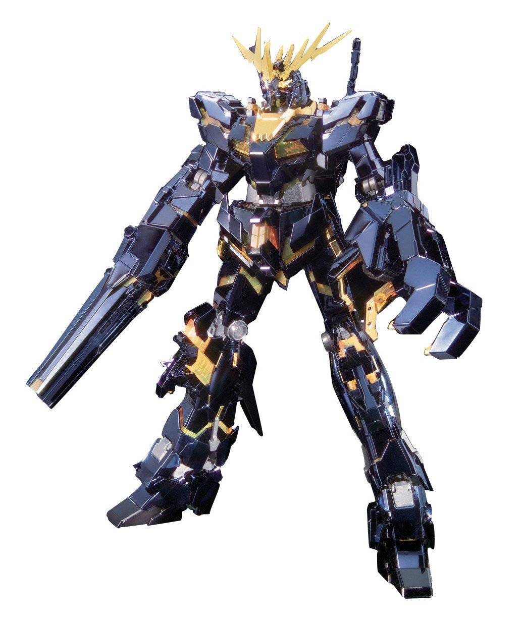 Bandai Hobby Banshee Titanium Finish Master Grade 1/100 RX-0 Gundam Unicorn Unit 02 Action Figure [並行輸入品] B00YFU2KJA