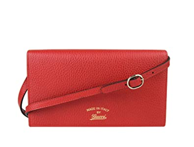 66354653361070 Image Unavailable. Image not available for. Color: Gucci Women's Swing Red  Leather ...