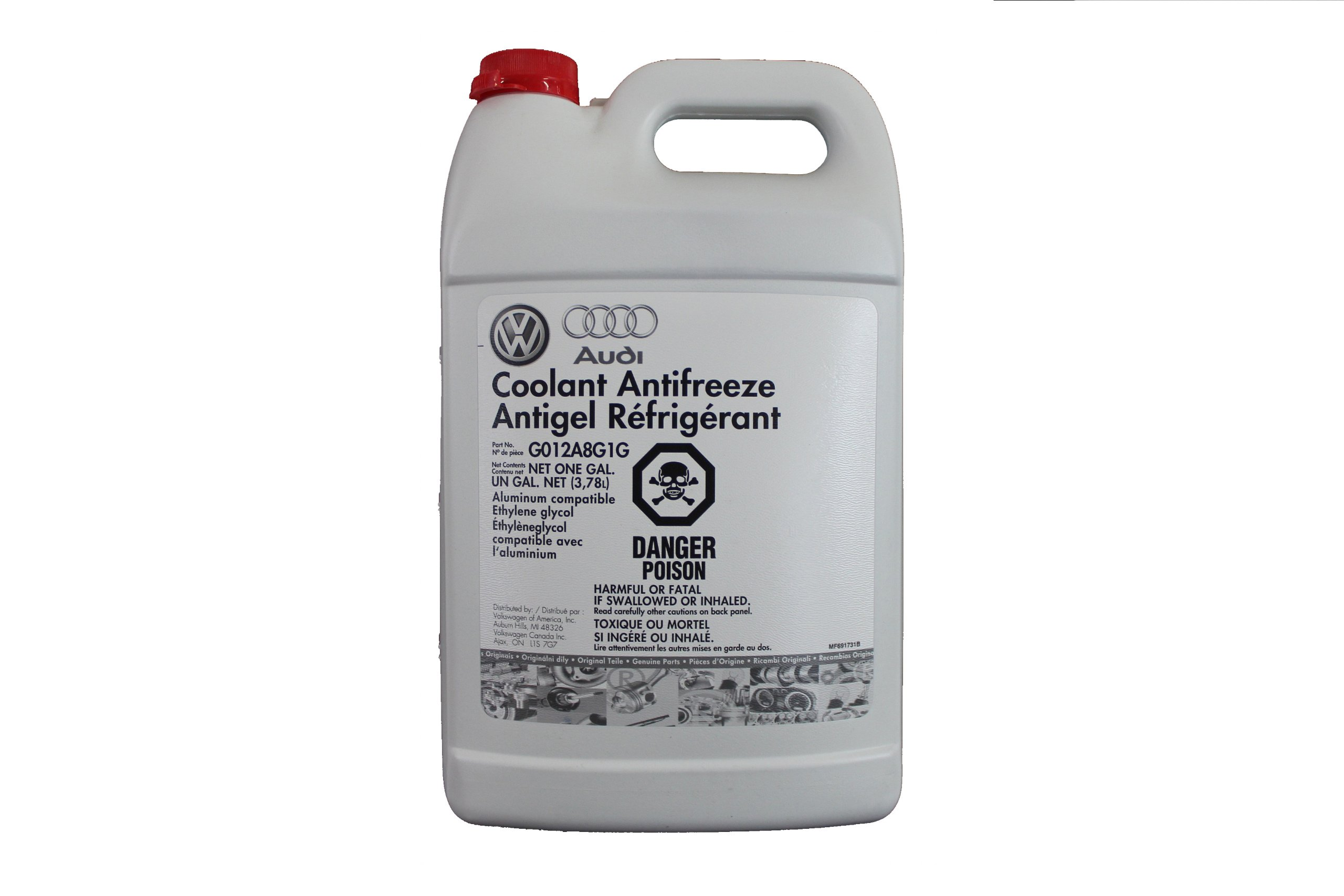 Audi Coolant Antifreeze Antigel Refrigerant (Part No. G013A8J1G)