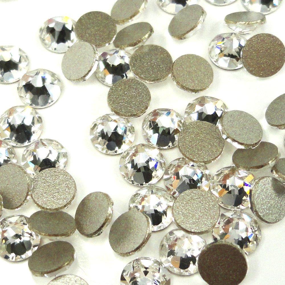 288 pcs (Factory Pack) Crystal (001) clear Swarovski NEW 2088 Xirius 30ss Flat backs Rhinestones 6.4mm ss30 by Crystal-Wholesale