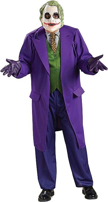 Disfraz oficial de Joker The Dark Knight para hombre M: Amazon.es ...