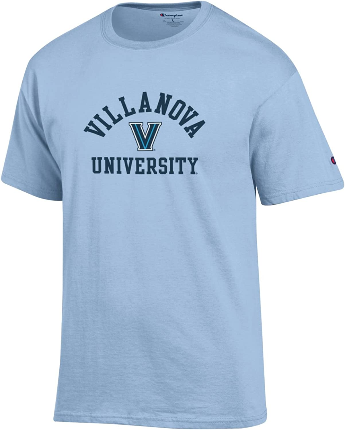 Villanova University Wildcats NCAA T-Shirt Light Blue