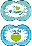 MAM 66736711 Succhietti Love mummy in silicone,  6+ mesi