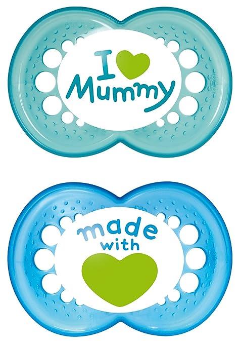 119 opinioni per MAM 66736711 Succhietti Love mummy in silicone, 6+ mesi