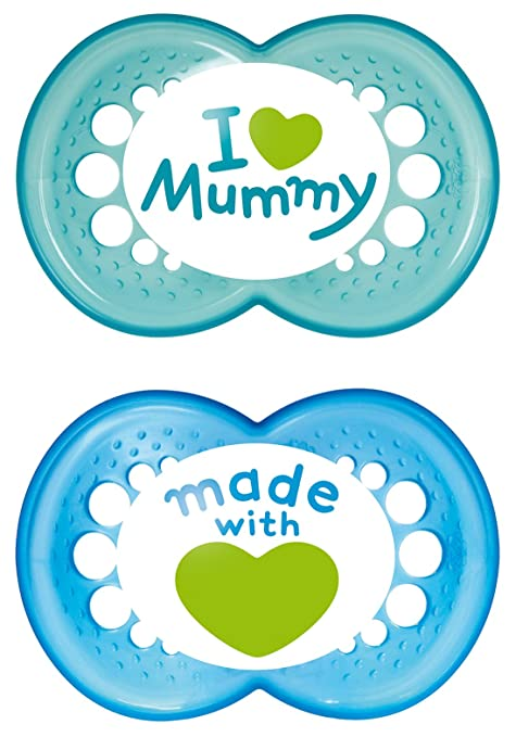 119 opinioni per MAM 66736711 Succhietti Love mummy in
