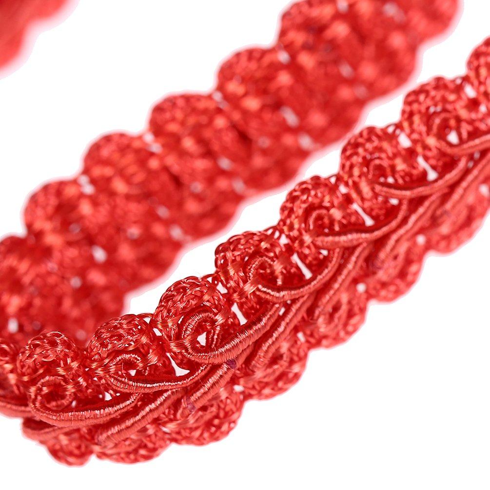 Kesheng Pink Gimp Braid Trim 0.4 x 5M