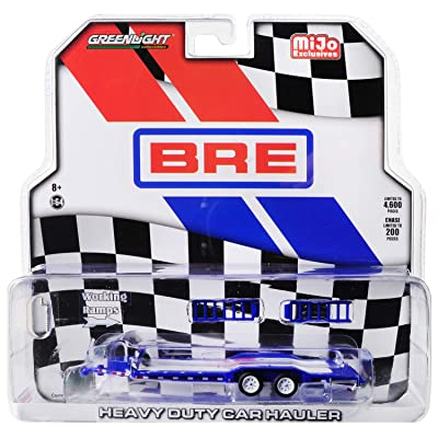 Heavy Duty Car Hauler Brock Racing Enterprises (BRE) Limited Edition to 4,600 Pieces Worldwide 1/64 Diecast Model by Greenlight 51259: Toys & Games