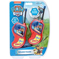 Paw Patrol Walkie Talkie Set Red/Blue