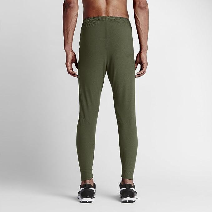 NIKE Tech tejida chándal pantalones para hombre verde 695456 325 ...