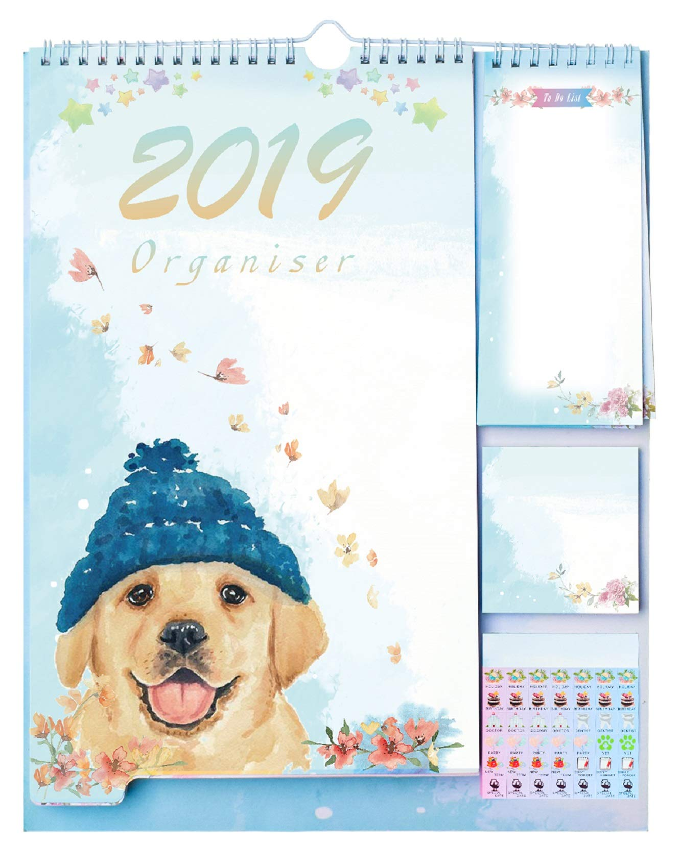 Daily Planners 2018-2019 Academic Year Day Planner 14.3
