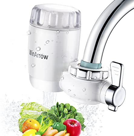 WinArrow- Filtro de Agua Para Grifo, KDF55 Filtro de Grifo con ...