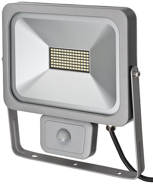 Brennenstuhl Slim LED Strahler Außen Mit Bewegungsmelder (Strahler Zur  Wandmontage, Leuchte IP54, LED