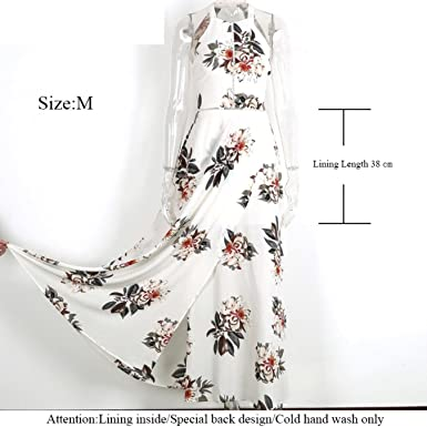KHGYSJ Floral Print Halter Chiffon Long Dress Women Backless Maxi Dresses Vestidos Sexy White Split Beach
