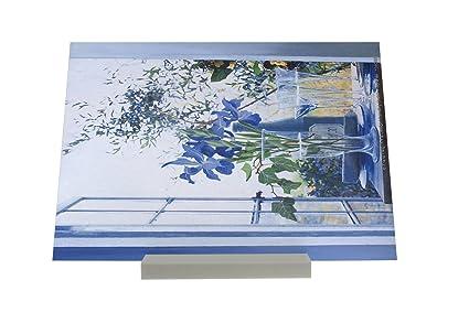 impresión del arte Soporte Fotografias Gira Mundial F. Heigl Pintura Flores Prosecco Letrero Retro
