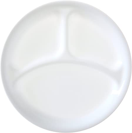 Amazon.com: Corelle Livingware 10 – 1/4-inch Divided Plato ...