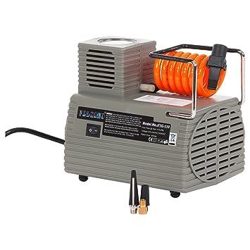 Sport-Tec - Compresor de aire (voltaje: 220 V, presión: 4 bar): Amazon.es: Deportes y aire libre