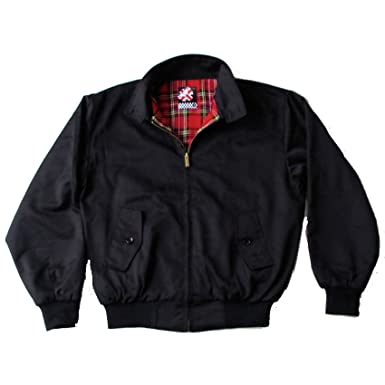 Warrior - Chaqueta Harrington original de color negro