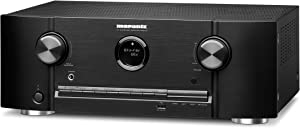 Marantz 8K Ultra HD AV Receiver SR5015-7.2 Channel (2020 Model) - Dolby Virtual Height Elevation with Built-in HEOS and Amazon Alexa Compatibility - Bluetooth Wireless Streaming & Home Automation