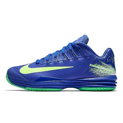 pretty nice ada00 08ea4 Nike Lunar Ballistec 1.5 Legend All Court Shoe Men - Blue, Green (8)