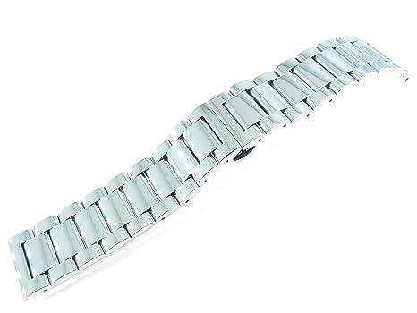 Armbanduhr edelstahl polieren