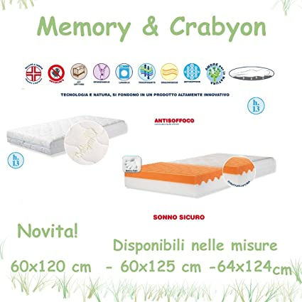 Colchón de Cuna Memory & crabyon Willy & Co.