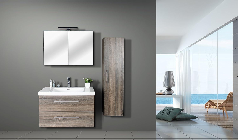 Jindoli Salle De Bain ~ jindoli meuble sous vasque salle de bain 2 tiroirs 80 cm meuble sdb