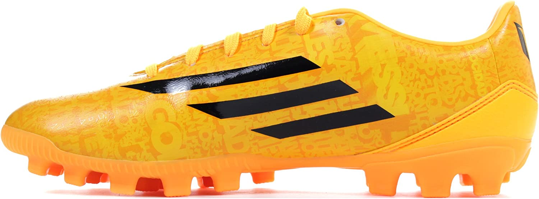 adidas Bota F10 TRX AG Messi Solar gold-Negra: Amazon.es ...
