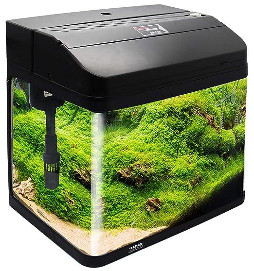 BPS Kit de Acuario con Iluminación Bomba Filtro y Accesorios para Pecera Peces (L: 38x26x47 cm, Naranja) BPS-6005NA: Amazon.es: Productos para mascotas